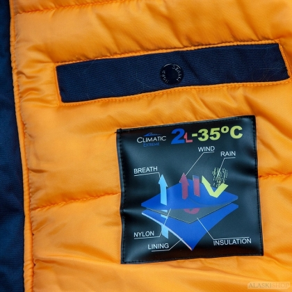 Аляска N3B OXFORD 2.0 COMPASS BLUE/ORANGE