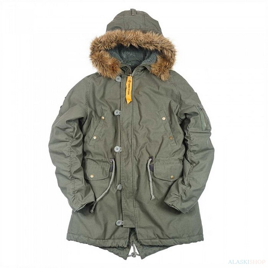 Аляска N3B FISH TAIL PARKA
