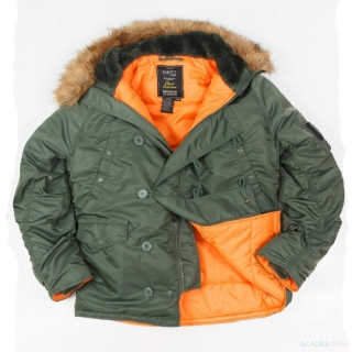 Аляска  N3B REGULAR SAGE GREEN/ORANGE